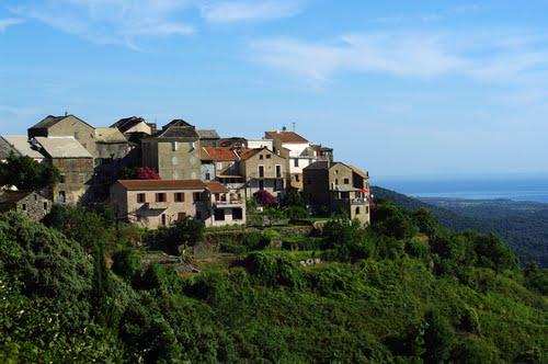 La ville de San Nicolao