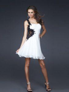 robe de cocktail blanche