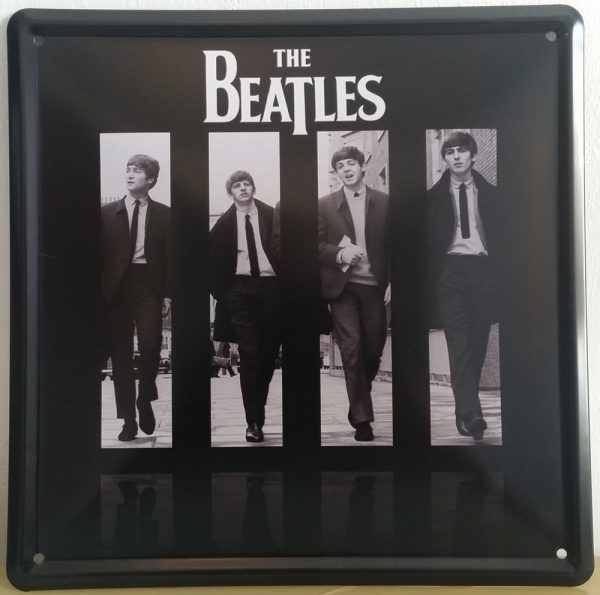 Plaque Les Beatles