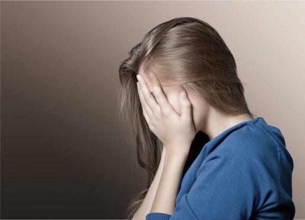femme enceinte dépressive