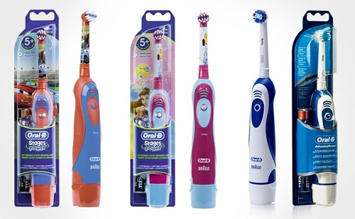 brosse dent electrique type