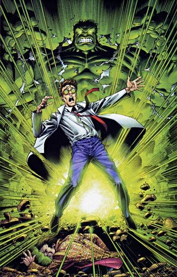 explosion de rayon gama, hulk