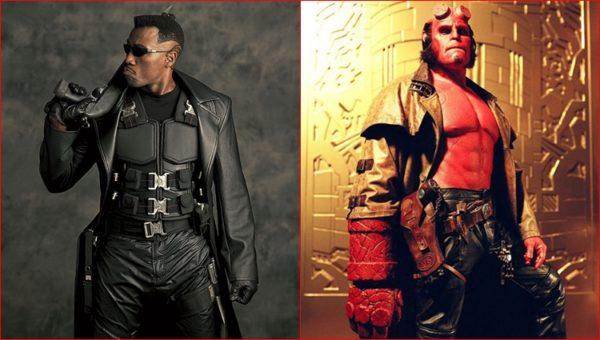 Blade et Hellboy
